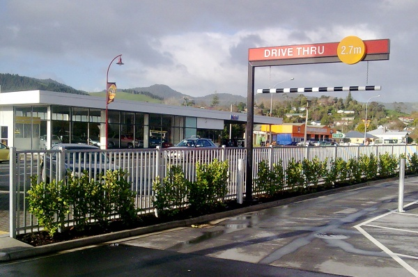 McDonalds Paeroa Flat top Defender